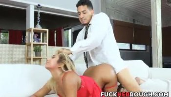 PAWG Swedish chick Lynna takes it from behind with pleasure